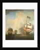 A First-Rate Shortening Sail by Samuel Scott