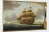 The Ville de Paris' under full sail by Thomas Buttersworth