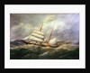 The brigantine 'L'Avennire' by Edmond Adam