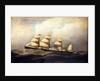 The steamship Baltic by Antonio Nicolo Gasparo Jacobson