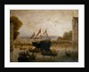 Launch of the brig 'Lewes Castle' by unknown