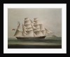 The barque 'Pathfinder' by Chinese School