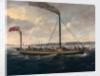 The paddle steamer 'British Queen' by British School