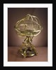 Orrery in the form of Renaissance Ptolemaic armillary sphere by Richard Glynne