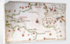 Portulan chart of the Atlantic by Pedro Reinel