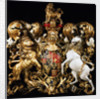 Royal coat of arms of King William III by unknown