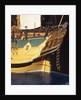 'Endeavour', detail, stern by Robert A. Lightley