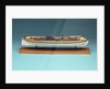 Model of a gunboat (circa 1808) by unknown