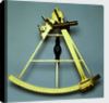 Sextant reputed to have been used on James Cook's third voyage to the Pacific (1776-80) by Jesse Ramsden
