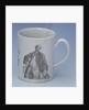 Worcester mug of Admiral Edward Boscawen by John Wall