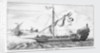 Barbary galley from 'Histoire Van Barbaryen' by unknown