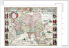 Map of Asia from the Bleau Atlas, 1662-65 by unknown