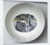 Queen's ware 'Boat Race Day' bowl designed by Eric Ravilious for Josiah Wedgwood & Sons by Eric Ravilious