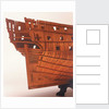 'Intrepid', starboard stern quarter detail by Joseph Williams