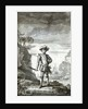 Captain Bartholomew Roberts, pirate and buccaneer by unknown