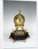 Terrestrial globe clock by Jacques de la Garde