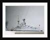 Dreadnought battleship HMS 'Queen Elizabeth' (1913) by Norman A. Ough
