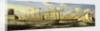 SS 'Great Britain' (Br, 1843) at Brunswick Wharf, Blackwall by R.B. Spencer