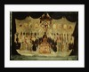 Picture on glass: Lord Nelson Lying in State by J. Hinton
