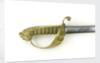 Solid half-basket hilted sword by Prosser