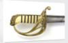 Open half-basket hilted sword by Lambert & Maclaurin