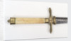 Hilt of dirk by unknown