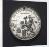 Medal commemorating the landing of William of Orange at Torbay, 1688; reverse by unknown