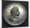 Medal commemorating the departure of King Charles III of Spain for Portugal, 1703; obverse by J. Boskam