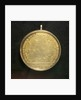Medal commemorating Admiral Count Orlov and the Battle of Chesme, 1770; reverse by J.B. Gass