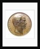 Medal commemorating Admiral Armand Bruat (1796-1855); obverse by Valentin Maurice Borrel