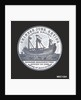 Medal commemorating the Chinese junk 'Keying' by T. Halliday