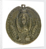 """Medal commemorating Queen Elizabeth bearing the words: """"Dangers averted"""", 1589; obverse by unknown"""