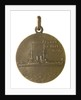 Medalet commemorating HMS 'Prince of Wales'; reverse by unknown