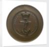 Trial piece, Naval Engineers medal; obverse by W. Wyon
