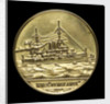 Medal commemorating the launch of HMS 'Vengeance', 1899; obverse by W.T. Story