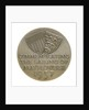 Medal commemorating the sailing of the 'Mayflower II', 1957; reverse by unknown