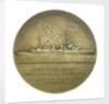 Medal commemorating the navigator Louis Antoine, Comte de Bougainville (1729-1811) and the destroyer 'Bougainville'; reverse by Anie Mouroux-Martin