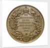 Medal commemorating the opening of the Keil canal, 1895; reverse by G. Loos
