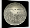 Medal commemorating the floods in Europe, 1784; obverse by J.C. Reich