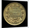 Medal commemorating Admiral von Tegetthoff and General Gablenz, 1874; reverse by Januer