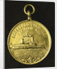 Medal commemorating the visit of the National Guard to the SS 'Garibaldi', 1898; reverse by B. Orzali & Co.