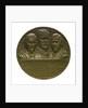 Medal commemorating the Battle of the Falkland Islands, 1914; obverse by Karl Goetz