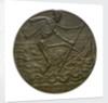 Medal commemorating the Battle of Jutland, 1916; reverse by H. Lindl
