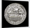 Medal commemorating the action off Iquique, 1879; obverse by R. Britten