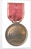 Medal commemorating the 150th anniversary of the capture of Louisbourg, 1895; reverse by Tiffany & Co.
