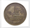Medal commemorating the Panama Canal completion exposition San Francisco, 1915; reverse by unknown