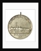 Medal commemorating the visit of the gun-boat 'Patria' to Rio de Janeiro; obverse by unknown