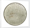 Medal commemorating the SS 'Great Britain', experimental voyage from Bristol to London, 1845; reverse by unknown