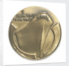 Medal commemorating the 40th anniversary of the Normandy Landings, 1984; reverse by Louis Leygue