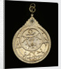 Astrolabe: mounted obverse by Muhammad Muqim al-Yazdi